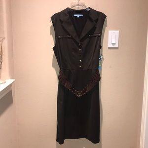 Antonio Melani Dark Brown Dress